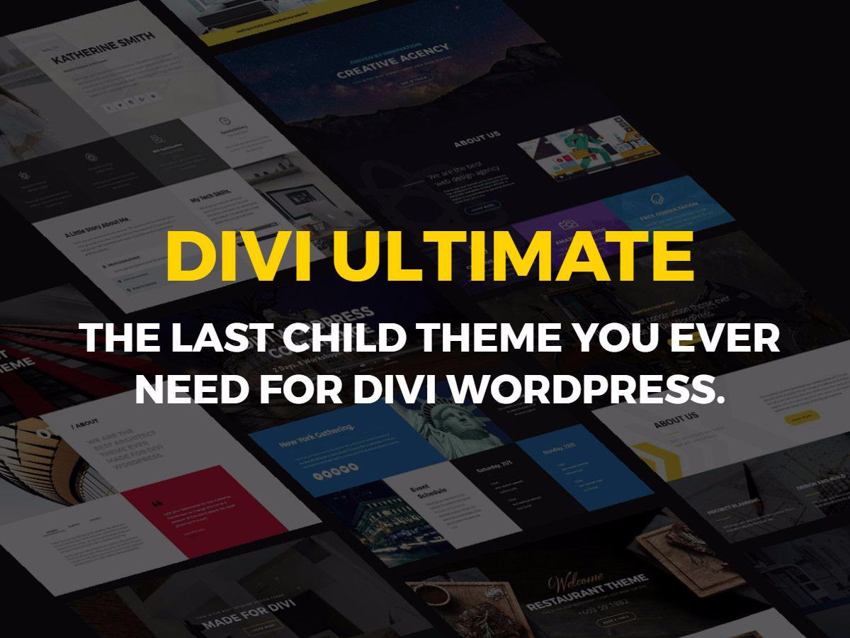 Magazine | Divi Ultimate - Divi Child Theme